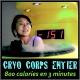 4 séances de CRYO (CORPS ENTIER ou LOCALISEE)