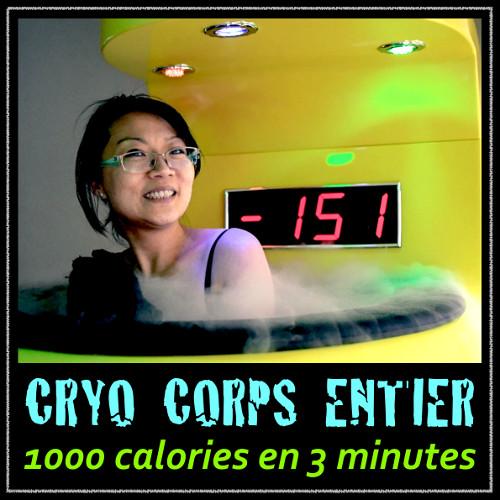 Cryothérapie Corps Entier à Nice