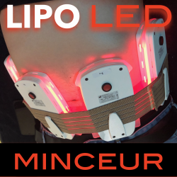 LIPO LED 12 séances (4 PADS)