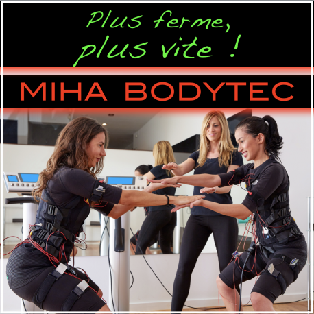 3 séances de MIHA BODYTEC