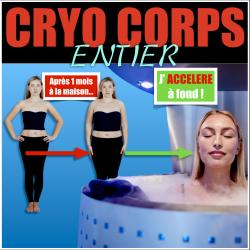 séances de CRYO CORPS ENTIER